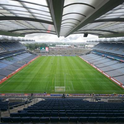 'View of Croke park empty'
